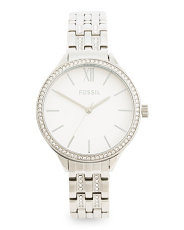 Women's Suitor Crystal Accented Bracelet Watch