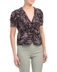Silk Snapdragon Keira Top