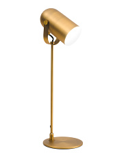 Antique Brass Metal Task Lamp