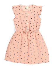 Little Girls Polka Dot Dress