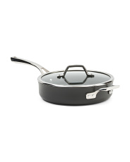 3qt Nonstick Saute Lidded Pan