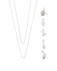 Sterling Silver Build Your Own Hobbies Necklace Collection
