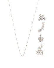 Sterling Silver Fairytale Build Your Own Charm Necklace