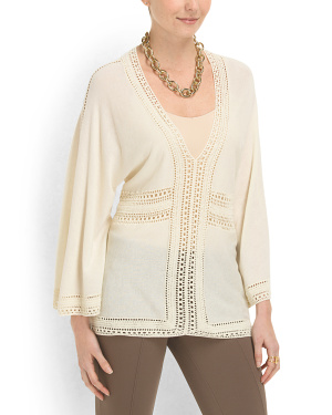 image of Cotton Blend Franny Tunic Top