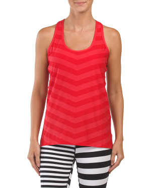 Striped Embossed Tank