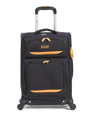 20in Lightweight Expandable Spinner Carry-On