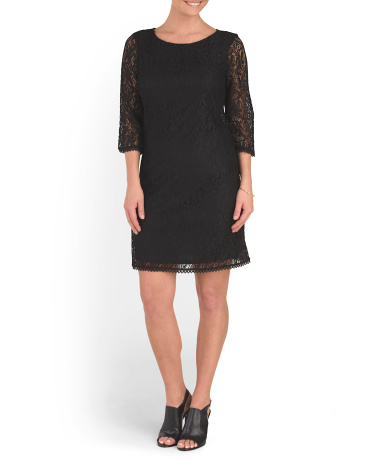 Rose Trellis Lace Dress