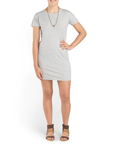 The Perfect T Shirt Dress
