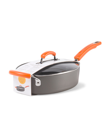 3qt Covered Oval Saute Pan