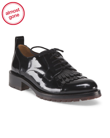 Made In Italy Leather Oxford