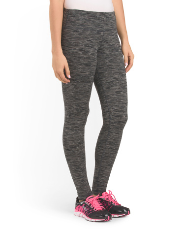 Peached Space Dye Legging