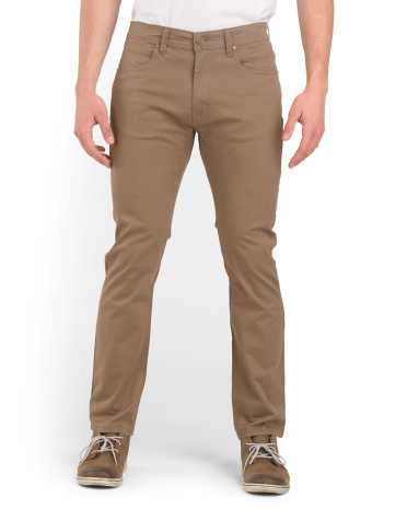 Stretch Skinny Fit Chino Pant
