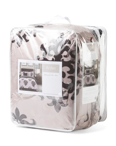 5pc Medallion Arden Comforter Set