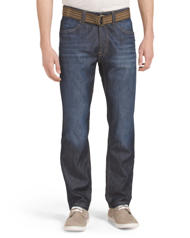 Slim Straight Corbin Wash Jean