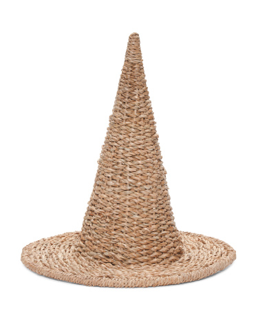 Basket Weave Witch Hat