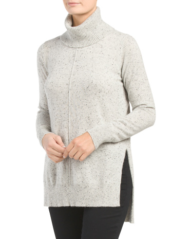 Cashmere Donegal Pullover Sweater
