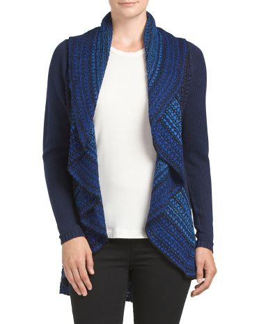 Shawl Circle Wrap Sweater