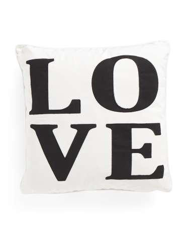 20x20 Love Pillow