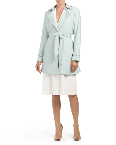 Daphnie Wrap Trench Coat