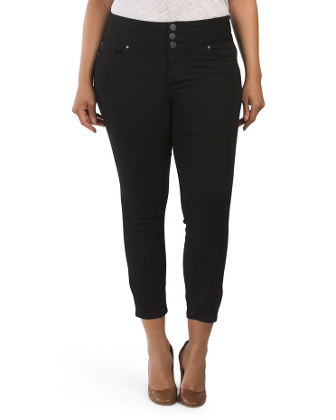 Plus Ankle Skinny Jeans