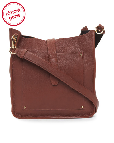 Felicia Leather Crossbody