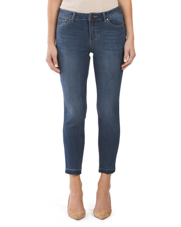 Release Hem Ankle Jeans