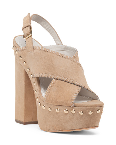 Suede Giana Sandal