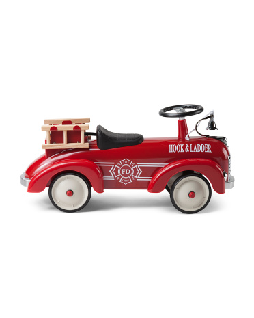 Fire Truck Metal Speedster