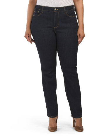 Plus Made In Usa Samantha Slim Jeans