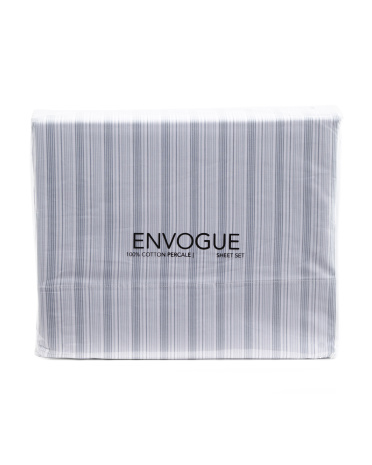 Tonal Stripe Cotton Sheet Set