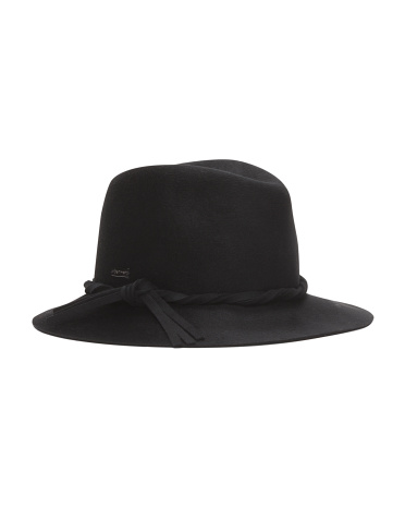 Made In USA Wool Charlie Trilby Hat