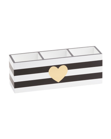 Stripe Pencil Holder