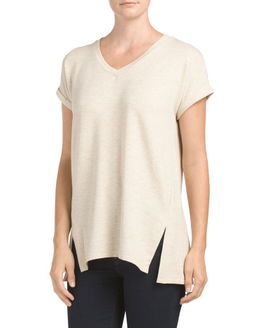 Drop Shoulder Baby Terry Top