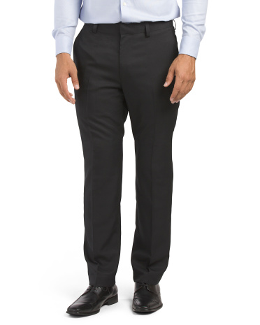Modern Fit Serge Solid Pants