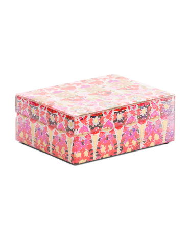 Collage Pink Jewelry Box