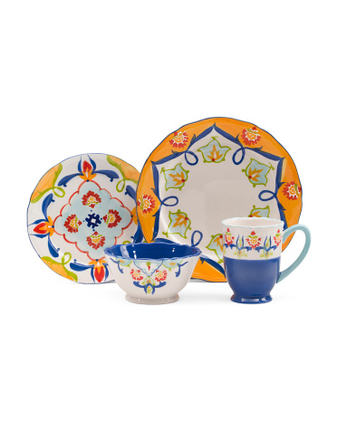 16pc Tivoli Dinnerware Set