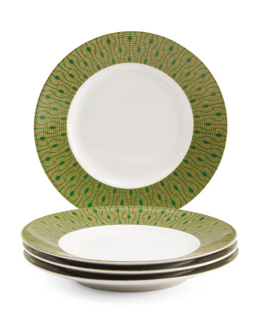 4pk Theorie Appetizer Plates