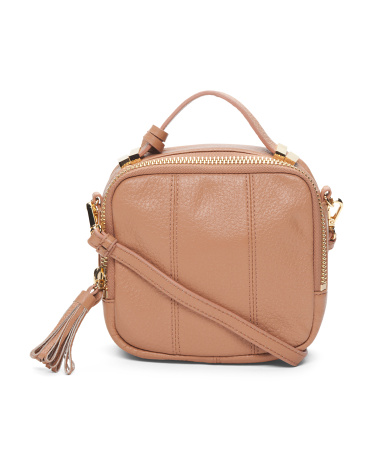 Eliza Leather Shoulder Bag