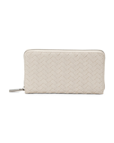 Crosby Zip Around Wallet