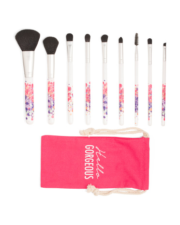10pc Make-Up Brush Set