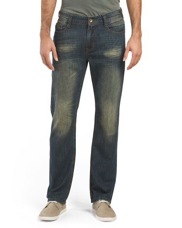 Luxe Denim Straight Leg Jeans