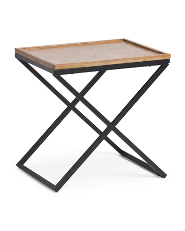Mix Media Side Table