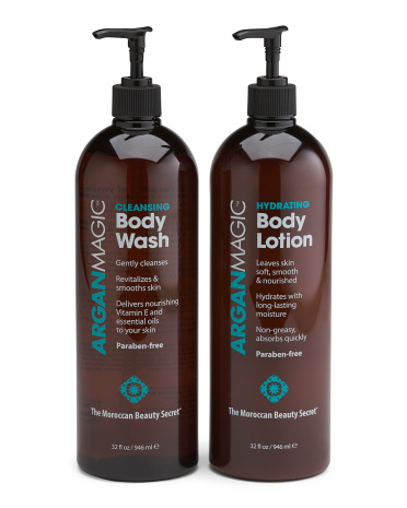 2pc Gift Set Body Wash And Body Lotion