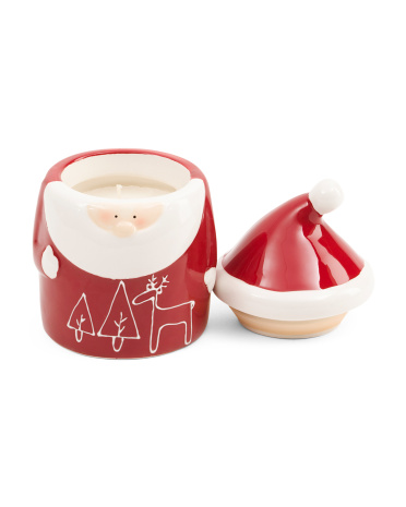 8oz Santa Jar Candle