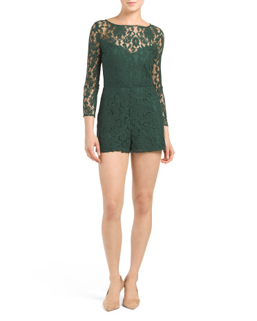 Juniors Dasha Lace Romper