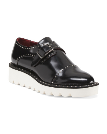 Made In Italy Platform Oxford Shoes