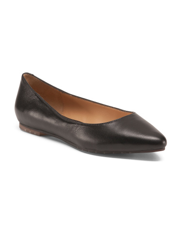 Aimee Ballet Leather Flats