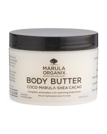Body Butter With Marula Oil