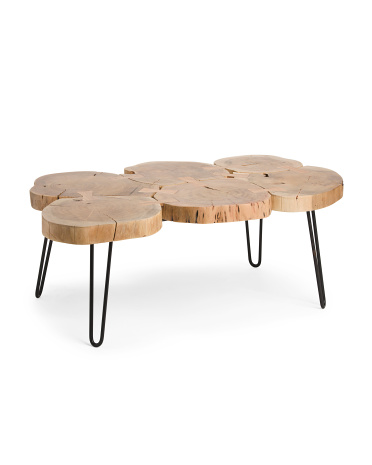Made In India Natural Trunk Coffee Table