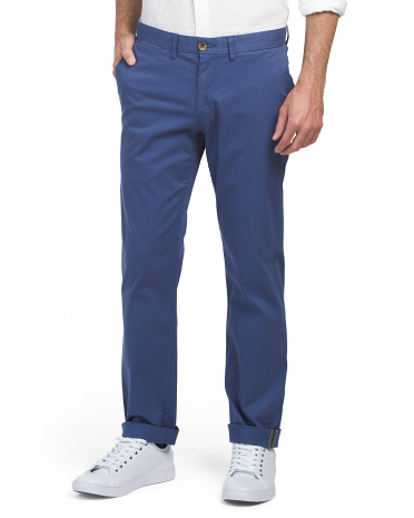 Stretch Slim Fit Chino Pants
